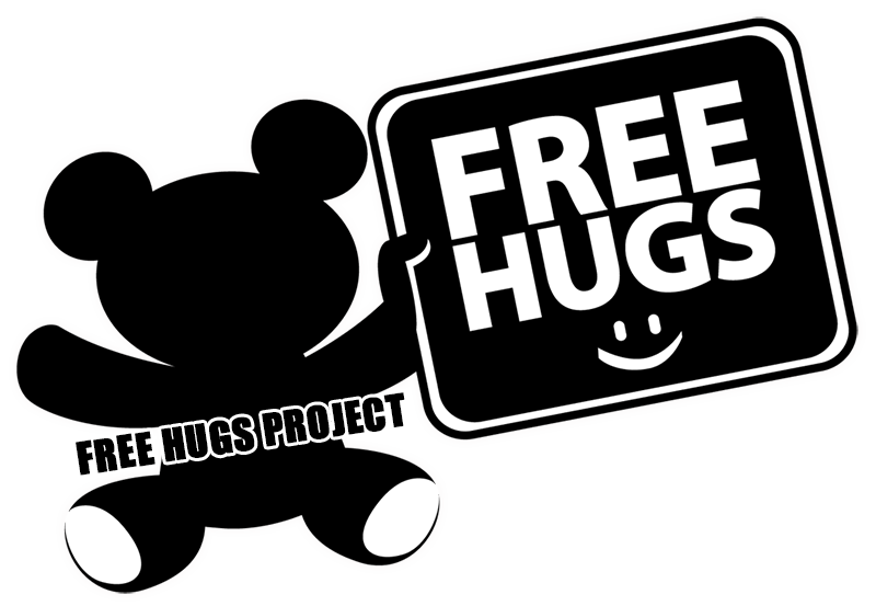 Free hugs project peace activist motivational speaker business