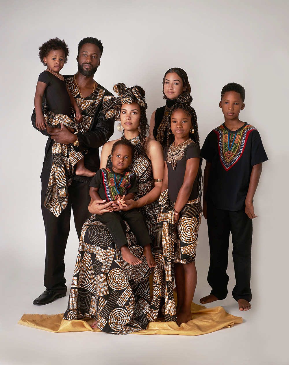 Beautiful Black Family